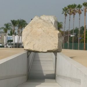 Levitated Mass, LACMA