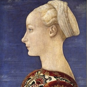 A painting by Pollaiuolo that appeared in the Met's show Renaissance Portraiture